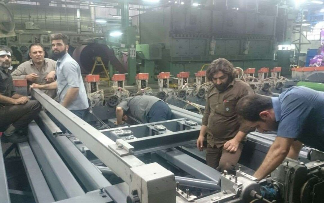 پروژه بازسازی ماشین چاپ روتاری اشتورک نساجی بروجرد